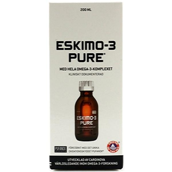Eskimo-3 Pure flytande Apelsin 210 ml