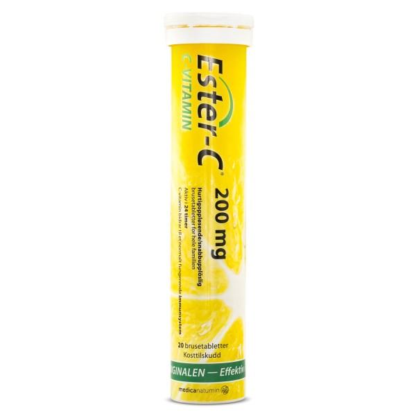 Ester-C Brus, 200 mg 20 brustabl