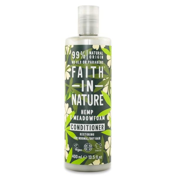 Faith in Nature Hemp & Meadowfoam Conditioner 400 ml
