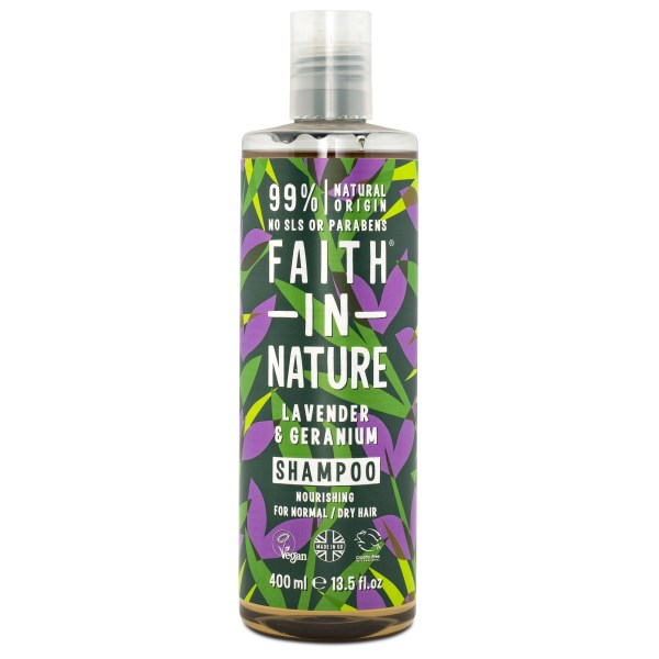 Faith in Nature Lavender & Geranium Shampoo 400 ml