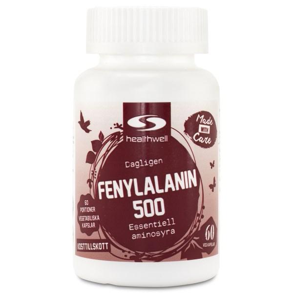 Fenylalanin 500 60 kaps