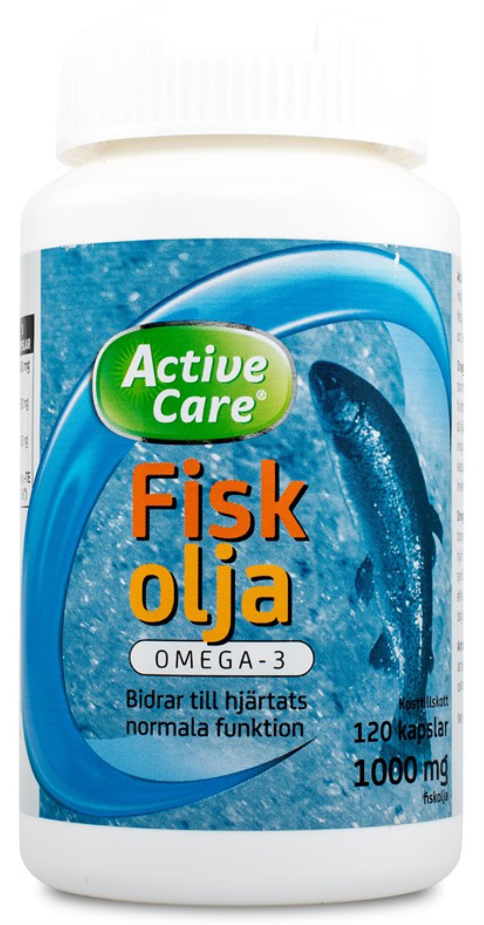 Active Care Fiskolja Omega-3,  - Active Care