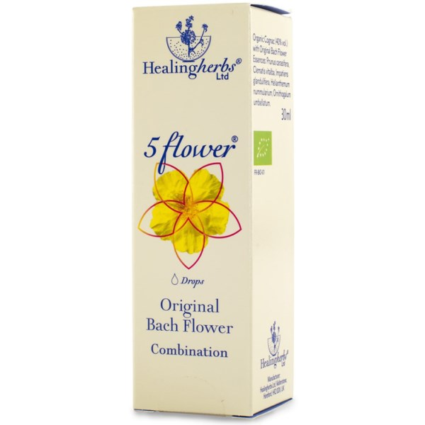 5 Flower Remedy Räddningsdroppar 30 ml