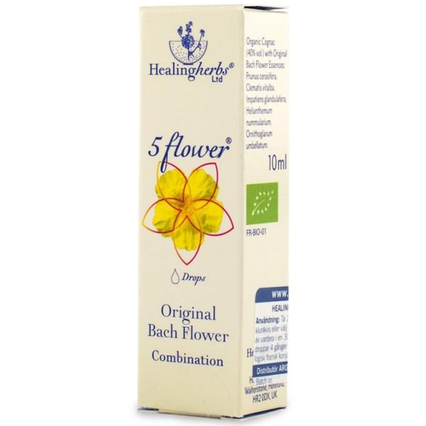 5 Flower Remedy Räddningsdroppar 10 ml