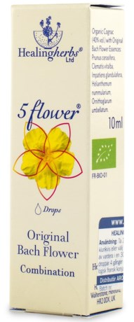 Five Flower Remedy Räddningsdroppar