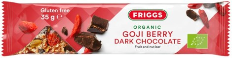 Friggs Goji Berry Dark Chocolate Bar