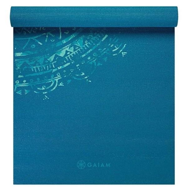 GAIAM Printed Yoga Mat 1 st Jade Mandala