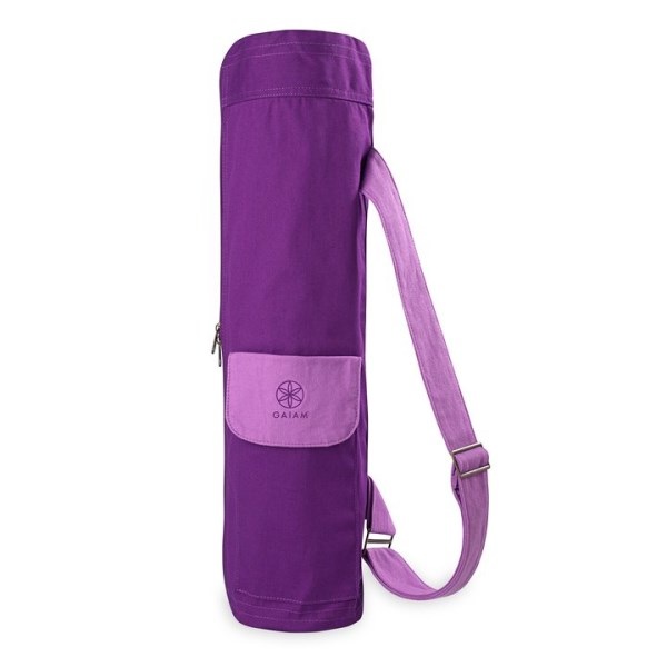 GAIAM Yoga Mat Bag One size Sparkling Grape