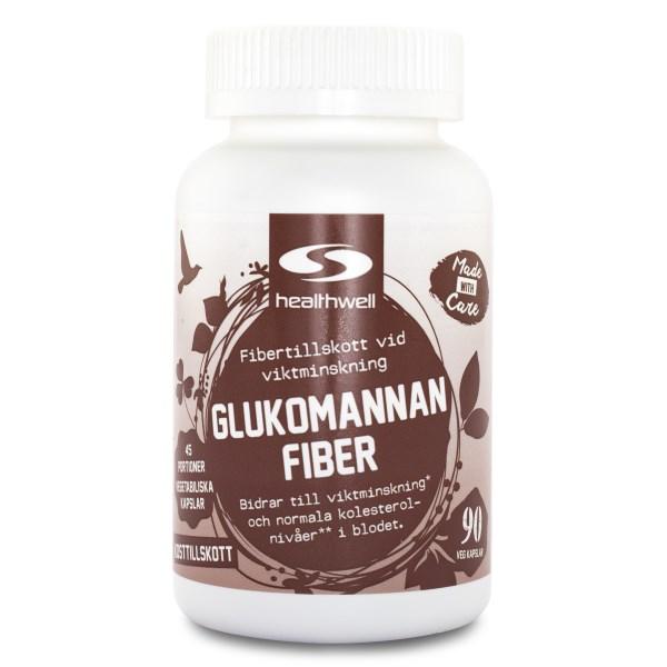 Glukomannan Fiber 90 kaps