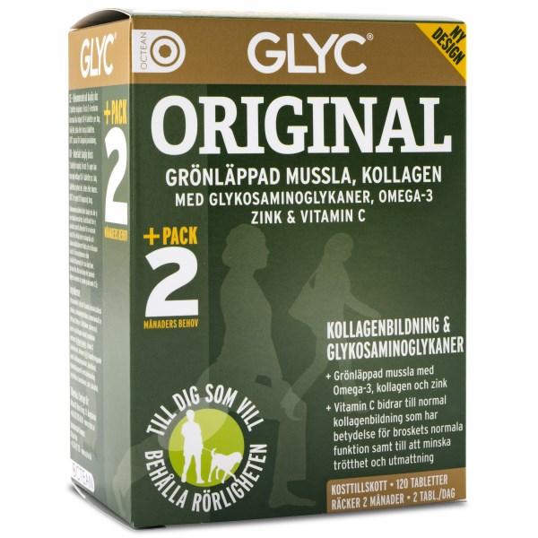 Glyc Original 120 tabl