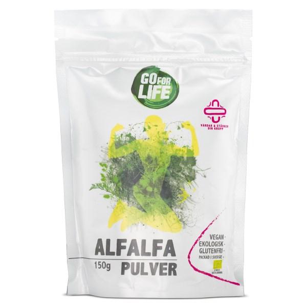 Go for Life Alfalfapulver EKO 150 g