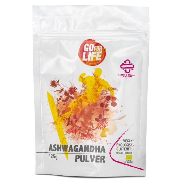 Go for Life Ashwagandhapulver EKO 125 g