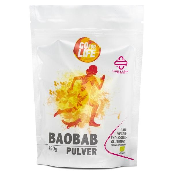 Go for Life Baobabpulver EKO 150 g