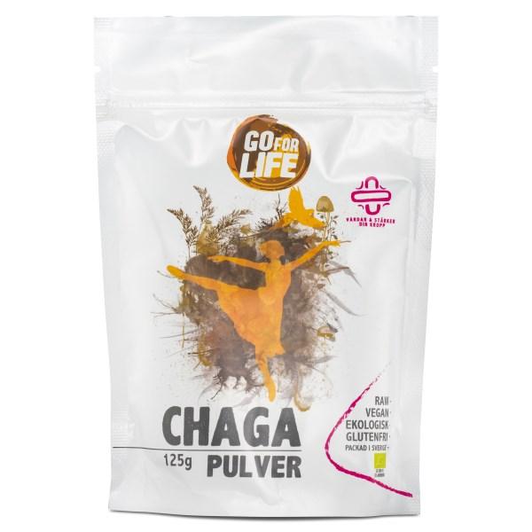 Go for Life Chagapulver EKO 125 g