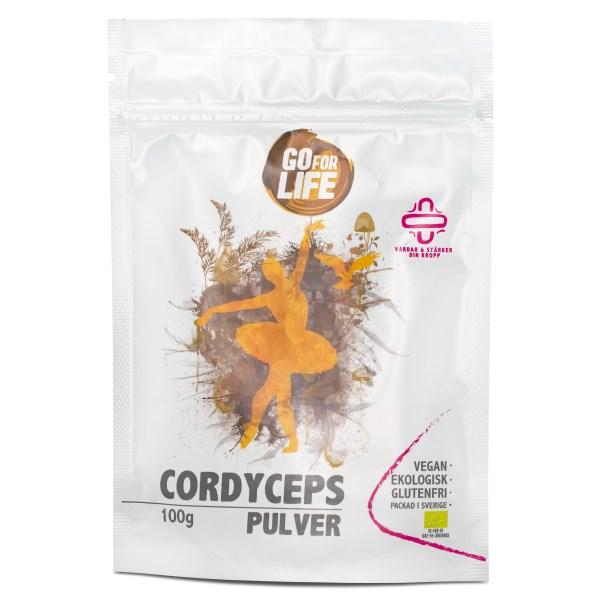 Go for Life Cordycepspulver EKO 100 g