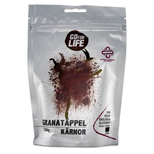 Go for Life Granatäppelkärnor 150 g