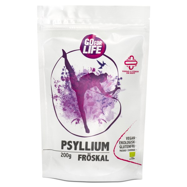 Go for Life Psylliumfröskal EKO 200 g