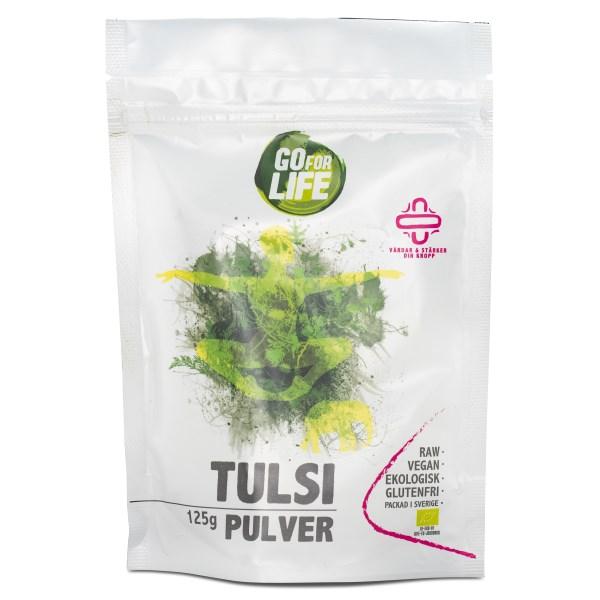 Go for Life Tulsipulver EKO 125 g