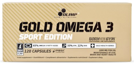 Olimp Gold Omega-3 Sport Edition