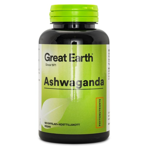Great Earth Ashwagandha 120 kaps