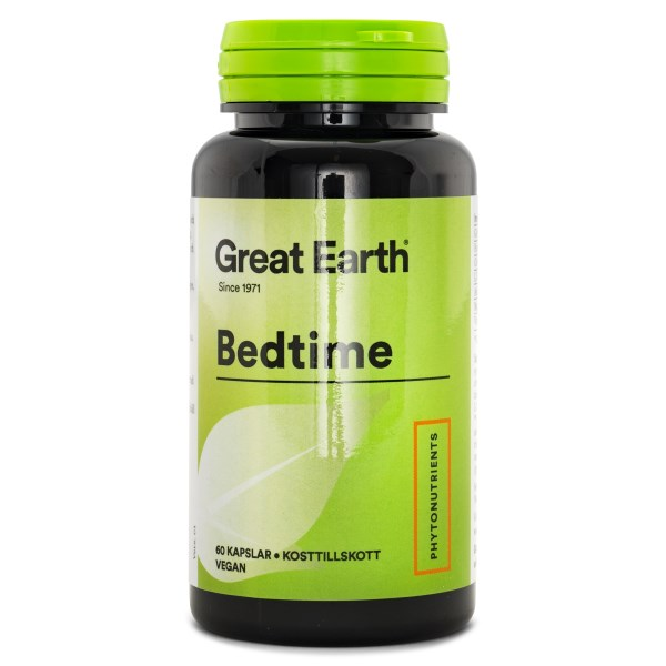 Great Earth Bedtime 60 kaps