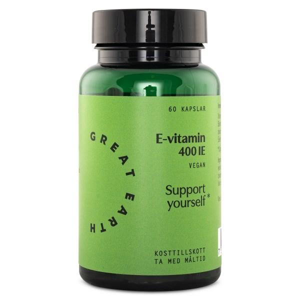 Great Earth E-vitamin 60 kaps