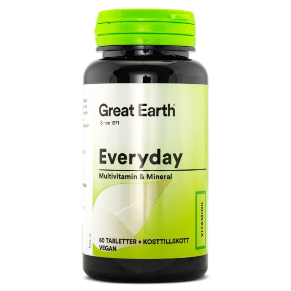 Great Earth Everyday 60 tabl