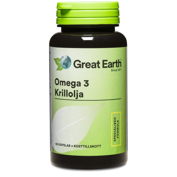 Great Earth Krill Omega 60 kaps
