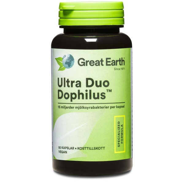 Great Earth Ultra Duo Dophilus 50 kaps