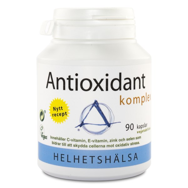Helhetshälsa Antioxidantkomplex 90 kaps