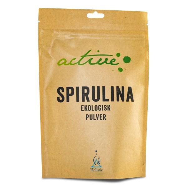 Holistic Active Spirulinapulver 150 g
