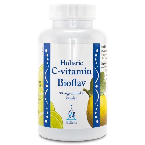 Holistic C-Vitamin Bioflav 90 kaps