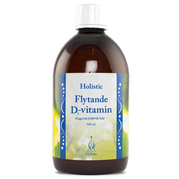 Holistic Flytande D3-vitamin 500 ml