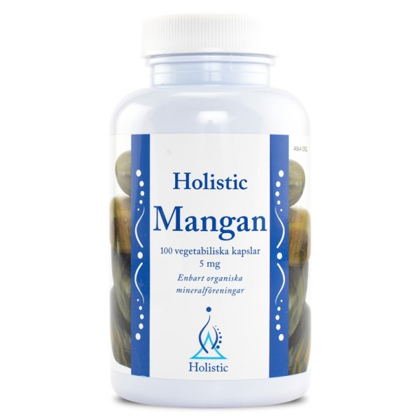 Holistic Mangan 100 kaps