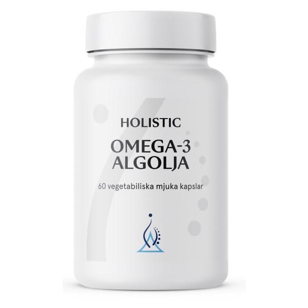 Holistic Omega-3 Algolja 60 kaps