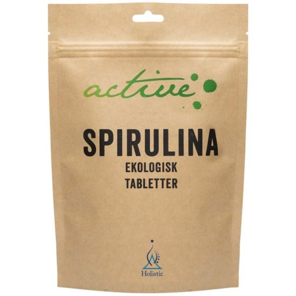 Holistic Active Spirulina Tabletter 250 tabl