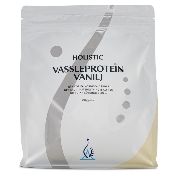 Holistic Vassleprotein Vanilj 750 g