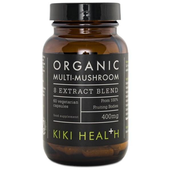 Kiki Health Organic 8 Mushroom Extract Blend 60 kaps