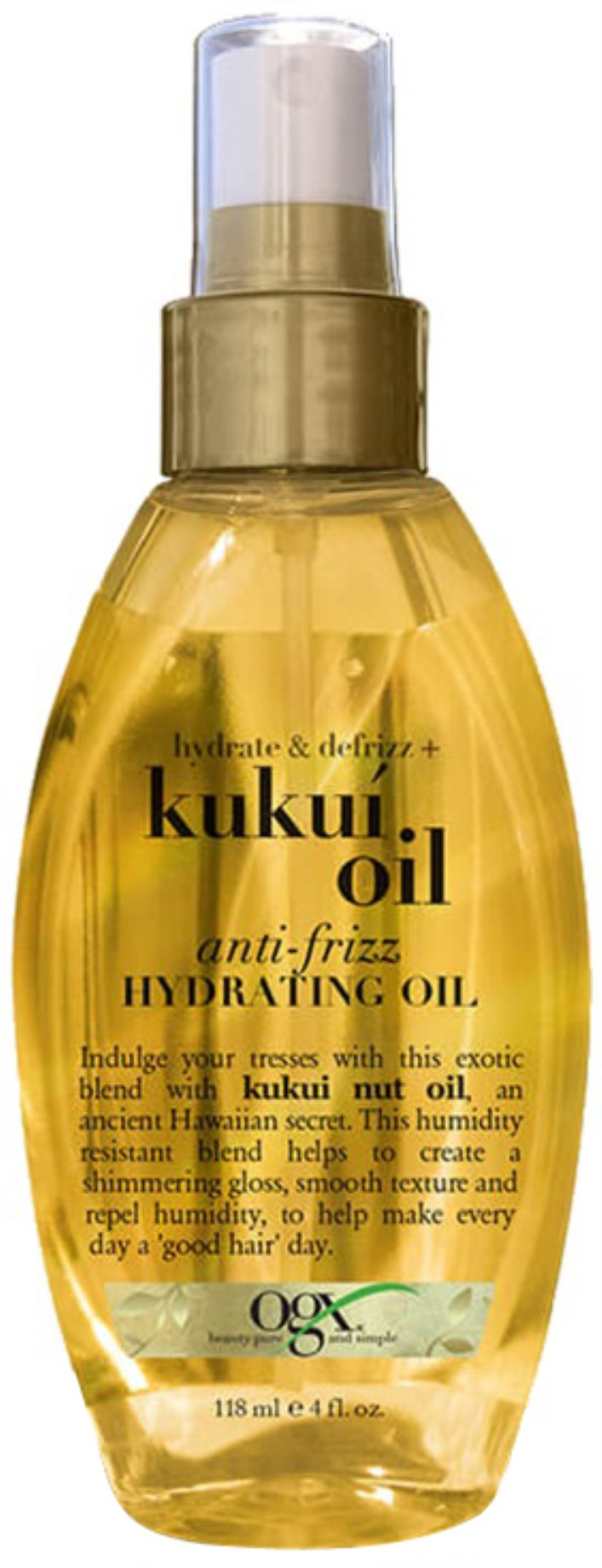 OGX Kukui Oil Anti-Frizz Hydrating Oil,  - OGX