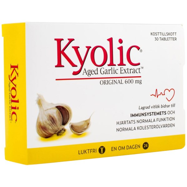Kyolic Original 600 mg 30 tabl
