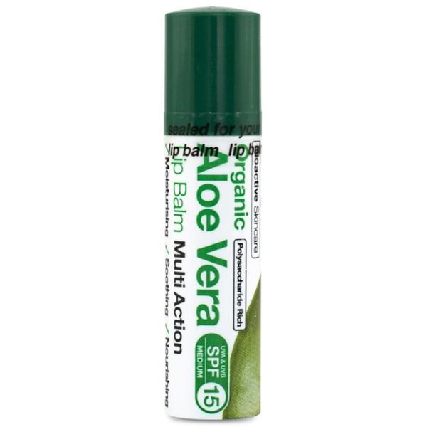 Dr Organic Aloe Vera Lip Balm 5,7 ml