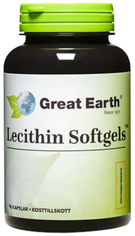 Great Earth Lecithin Softgels 1200 mg
