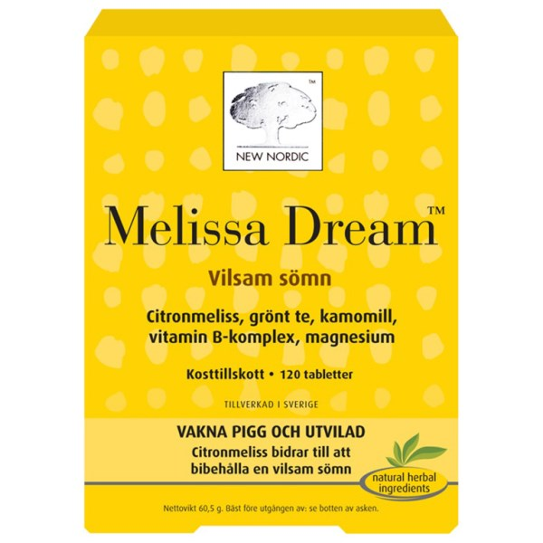 New Nordic Melissa Dream 120 tabl