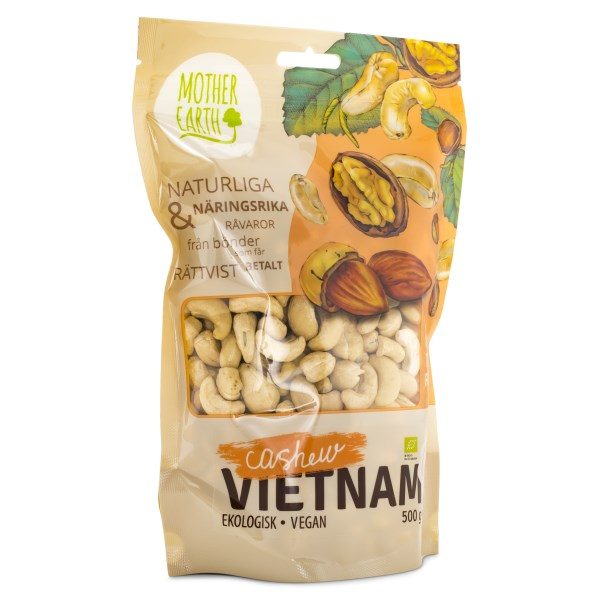 Mother Earth Cashewnötter Hela EKO 500 g