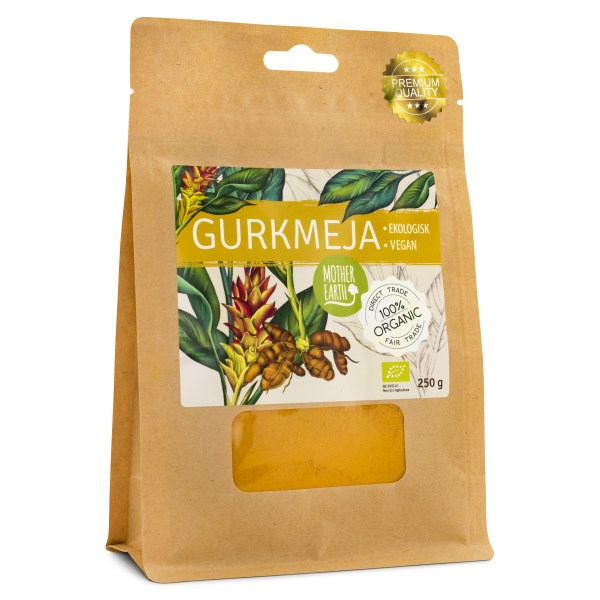 Mother Earth Gurkmeja EKO 250 g