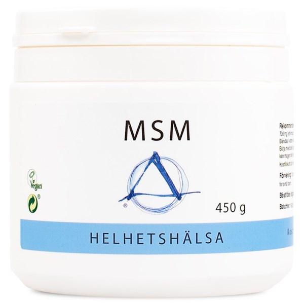 Helhetshälsa MSM Pulver 450 g