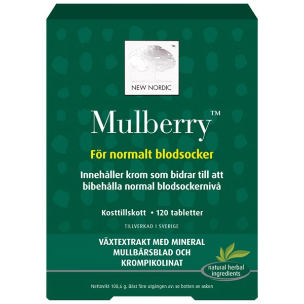 New Nordic Mulberry 120 tabl