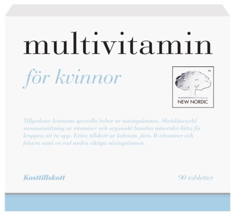 New Nordic Multivitamin Kvinnor