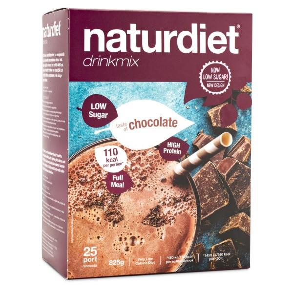 naturdiet drinkmix chocobanana