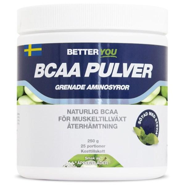 Better You BCAA Pulver Äpple/Fläder 250 g